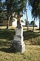 Wayside cross in Předín, Třebíč District.jpg