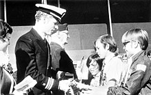 Returned POW Phil Butler meets his family at the Tulsa Ok airport