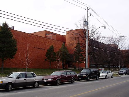 Ecole secondaire catholique Saint-Frere-Andre in Toronto is one of many publicly funded French Catholic schools in the province of Ontario. West Toronto Collegiate.jpg