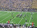 Western Michigan vs. Michigan 2011 04 (Michigan on offense).jpg