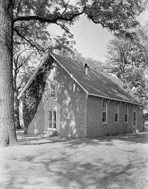 Westover Church - Westover Church, 1930, by Frances Benjamin Johnston