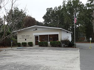 White Springs, Florida - Image: White Springs post office
