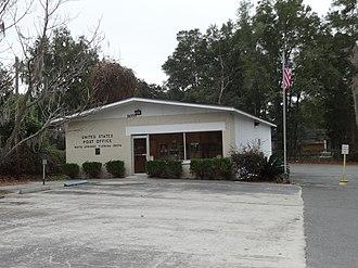 White Springs, Florida - Image: White Springs post office