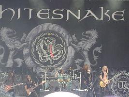 Whitesnake - Simple English Wikipedia, the free encyclopedia
