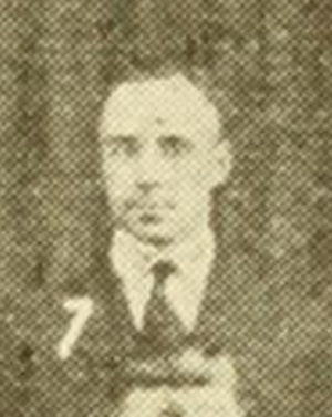 Berry Whitaker - Whitaker c. 1921 at Texas