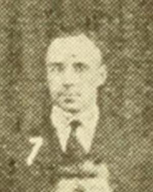 Berry Whitaker - Whitaker c. 1921 at Texas