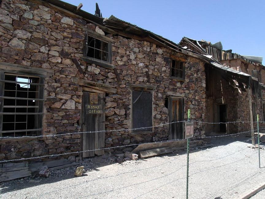 Wickenburg Vulture Mine-Assay office-1884-1