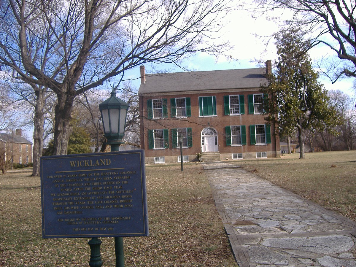 Wickland Bardstown Kentucky Wikipedia