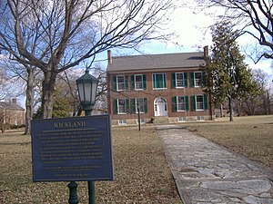 Charles A. Wickliffe - Wickland, the home of Wickliffe