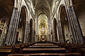 Wide view of the interior of St. Vitus Cathedral 2, 2014-03-06.jpg