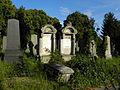 Wien-Simmering - Zentralfriedhof - alte jüdische Abteilung - Grabreihe II.jpg