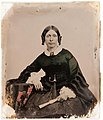 Wife of Horace Poinier, Mayor of Newark, dated 1854 (4828072130).jpg