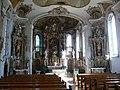Wiggensbach St Pankratius Hauptschiff und Chor.jpg