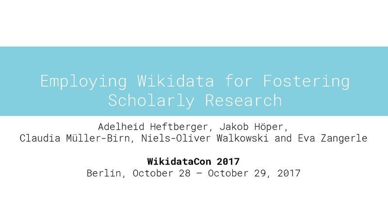 File:WikidataCon Heftberger, Höper, Müller, Walkowski, Zangerle.pdf
