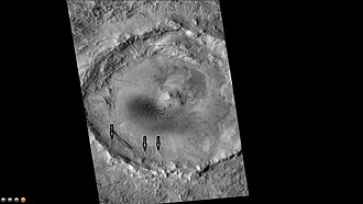 Kufra (crater) - Image: Wikikufra
