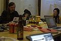 Wikimedia Foundation SOPA War Room Meeting AFTER BLACKOUT 1-17-2012-1-4.jpg