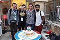 Wikimedia Hackathon Jerusalem Cake IMG 8765.JPG