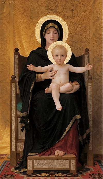 BOUGUEREAU William-Adolphe Virgin and Child 1888