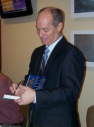 William Bernhardt - William Bernhardt at the University of Scranton in November 2009