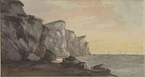 William Sawrey Gilpin - Coast Scene