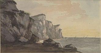 William Sawrey Gilpin - Coast Scene