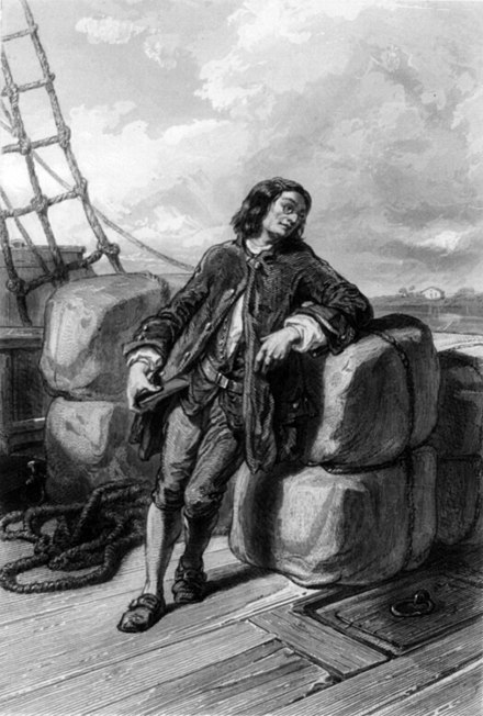 Captain Gulliver, from a French edition of Gulliver's Travels (1850s). Willmann, Colin, & Outhwaite, Capt. Gulliver, cph.3b18901.jpg