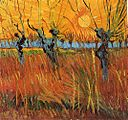 Willows at Sunset 1888 Vincent van Gogh.jpg