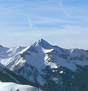 Wilson Peak - Wilson peak photographed from the Telluride Ski Resort