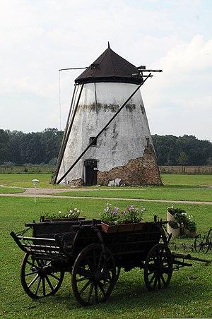 Karađorđevo (Bačka Palanka) - Windmill in Karađorđevo