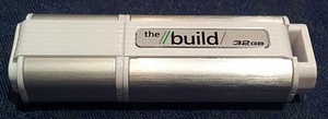 A USB flash drive offered by Microsoft at the Build conference with Windows To Go pre-installed