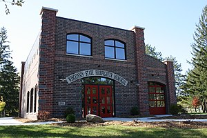 Wisconsin State Firefighters Memorial - The Memorial