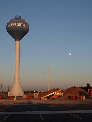 Wolfforth, Texas - Image: Wolfforth TX