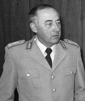 Wolfgang Altenburg - Altenburg in 1983