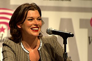 Resident Evil (film series) - Actress Milla Jovovich portrays Alice in the film series.