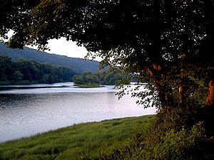 Delaware Water Gap - Worthington State Forest, from a campsite