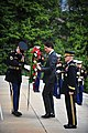 Wreath Laying, Tomb of the Unknown (25403621880).jpg