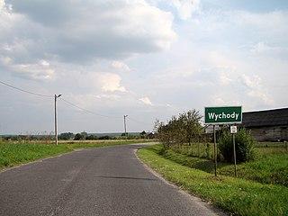 Wychody Village in Lublin, Poland