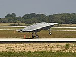 X-47B takes off from NAS Patuxent River (120729-D-UY152-002).jpg