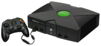 Xbox console with
