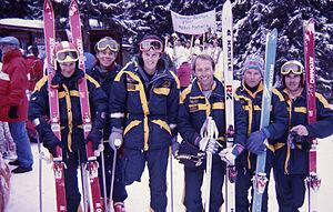 Australia at the 1988 Winter Paralympics - The 1988 Australian Winter Paralympic Alpine Ski Team
