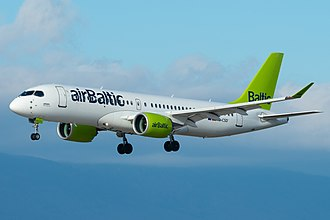 Airbus A220 - AirBaltic A220-300