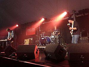 Y Niwl - Performing at the Summer Sundae festival 2012