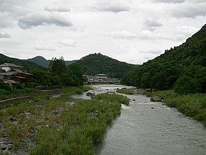 Yabegawa Prefectural Natural Park - Image: Yabegawa kurogi