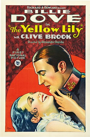 Yellow Lily - Theatrical release poster