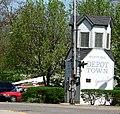 Ypsi Depot Town marker.jpg