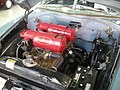 Ypsilanti Automotive Heritage Museum August 2013 21 (1952 Hudson Hornet stock car engine).jpg
