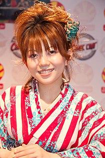 Yui Makino 20090704 Japan Expo 27.jpg