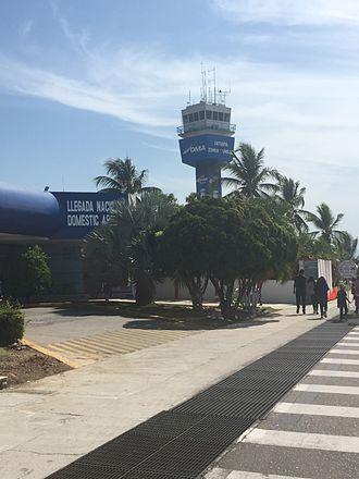 Ixtapa-Zihuatanejo International Airport - Airport's Control Tower.