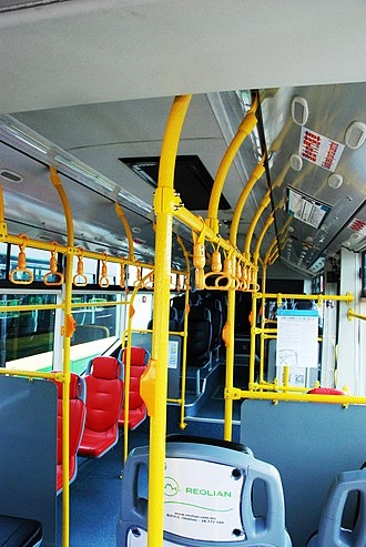 Reolian - Inside Reolian's ZK6902HG bus