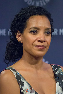 Zabryna Guevara at NY PaleyFest 2014 for Gotham.jpg